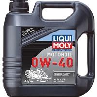 2261 Синтетическое моторное масло для снегоходов Snowmobil Motoroil 0W-40 4 л
