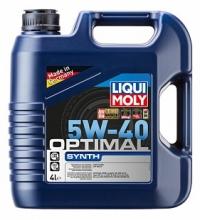 3926 НС-синтетическое моторное масло Optimal Synth 5W-40 4 л
