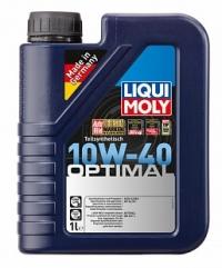 3929 Полусинтетическое моторное масло Optimal 10W-40 1 л