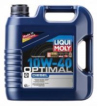 3934 Полусинтетическое моторное масло Optimal Diesel 10W-40 4 л