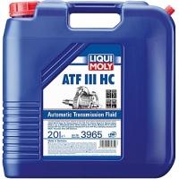 3965 НС-синтетическое трансмиссионное масло для АКПП ATF III HC 20 л
