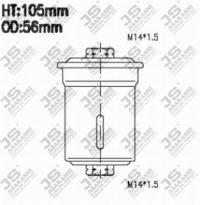 FS6042 Фильтр топливный