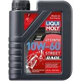 1525 Синтетическое моторное масло для 4-тактных мотоциклов Racing Synth 4T 10W-60 1 л