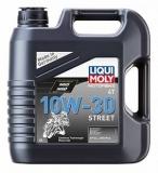 1688 НС-синтетическое моторное масло для 4-тактных мотоциклов Motorbike 4T 10W-30 Street 4 л