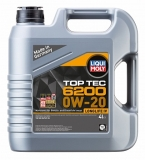 20788 НС-синтетическое моторное масло Top Tec 6200 0W-20 4 л