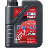 2592 Cинтетическое моторное масло для 4-тактных мотоциклов Racing Synth 4T 5W-40 1 л
