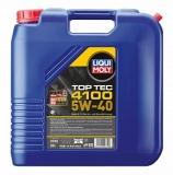 3702 НС-синтетическое моторное масло Top Tec 4100 5W-40 20 л