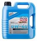 39035 НС-синтетическое моторное масло Leiсhtlauf Energy 0W-40 4 л