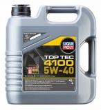 7547 НС-синтетическое моторное масло Top Tec 4100 5W-40 4 л