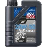 7632 Минеральное моторное масло для 4-тактных мотоциклов Racing 4T 20W-50 1 л
