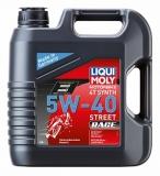 1685/8070 Cинтетическое моторное масло для 4-тактных мотоциклов Motorrad Synth 4T 5W-40 4 л