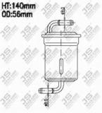 FS9102 Фильтр топливный