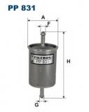 PP 831 Фильтр топливный