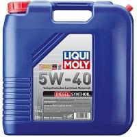 1342 Синтетическое моторное масло Diesel Synthoil 5W-40 20 л
