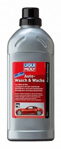 1542 Автошампунь с воском Auto-Wasch & Wachs 1 л