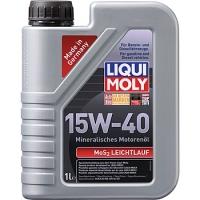 1932 Минеральное моторное масло MoS2 Leichtlauf 15W-40 1 л