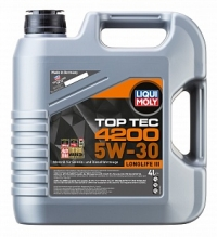 3715 НС-синтетическое моторное масло Top Tec 4200 5W-30 4 л