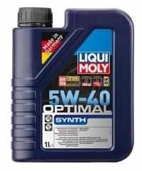 3925 НС-синтетическое моторное масло Optimal Synth 5W-40 1 л