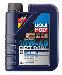 3933 Полусинтетическое моторное масло Optimal Diesel 10W-40 1 л