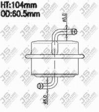FS7095 Фильтр топливный