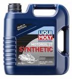 2246 Синтетическое моторное масло для снегоходов Snowmobil Motoroil 2T Synthetic 4 л