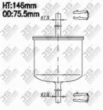 FS800M Фильтр топливный