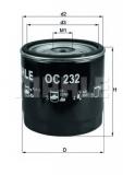 OC 232 Фильтр масляный