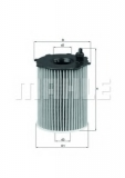 OX171/2D Фильтр масляный